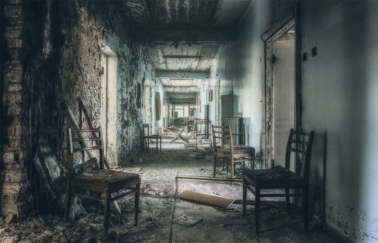 """Krankenhausflur"""