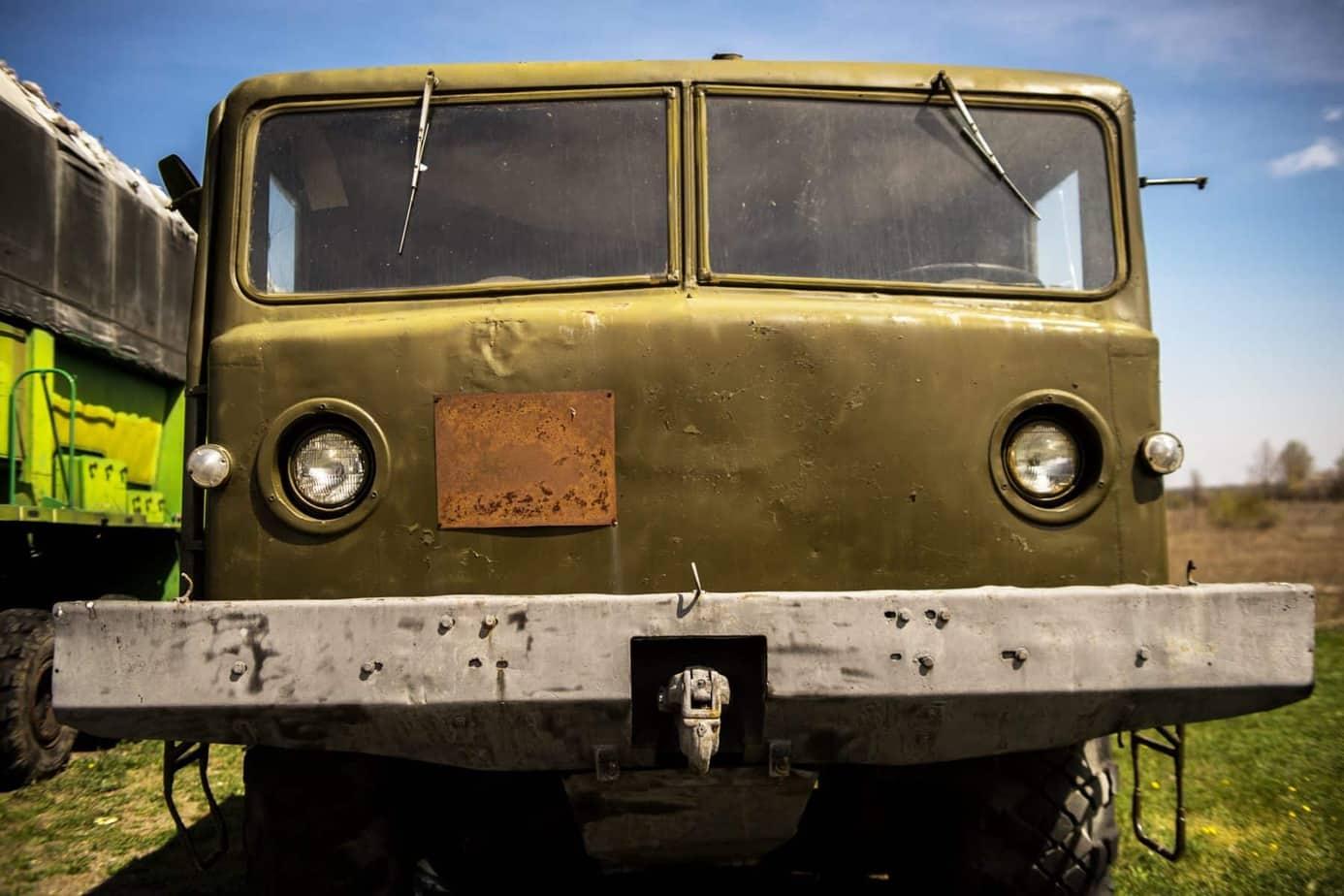 Im geheimen Atombunker in der Ukraine