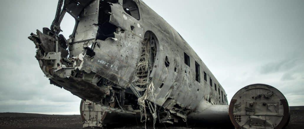 Mysteriöses Flugzeugwrack