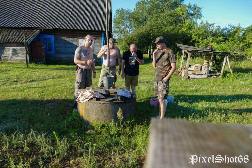 Abenteuertour mit dem Kajak in der Ukraine