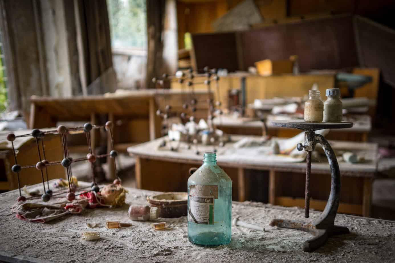 Schule in Tschernobyl