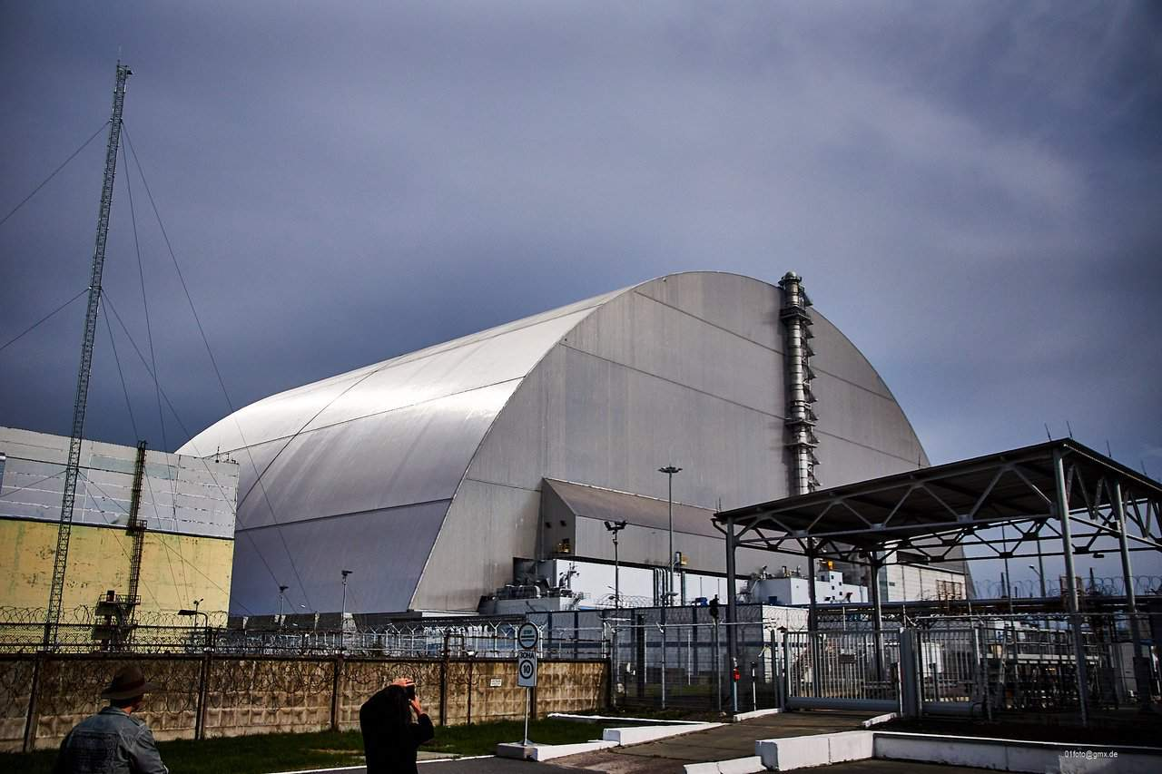 Neuer Sarkophag Tschernobyl
