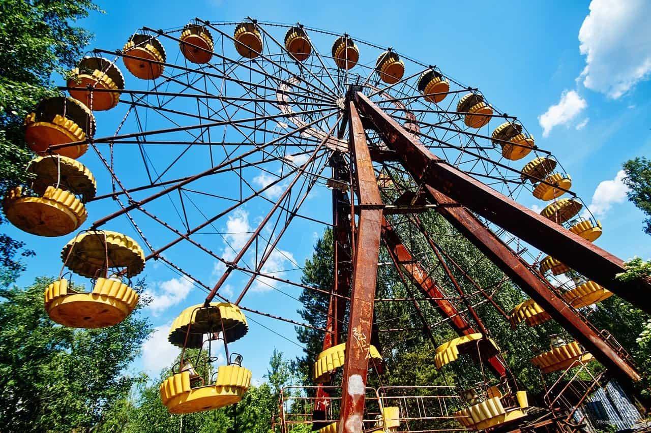 Riesenrad in Tschernobyl