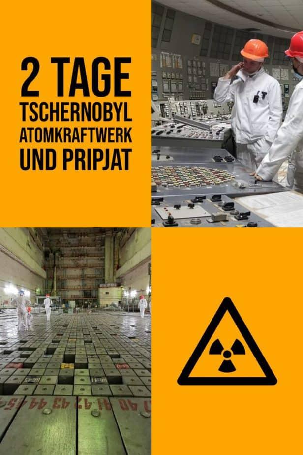 2 Tage Tschernobyl Atomkraftwerk und Pripjat