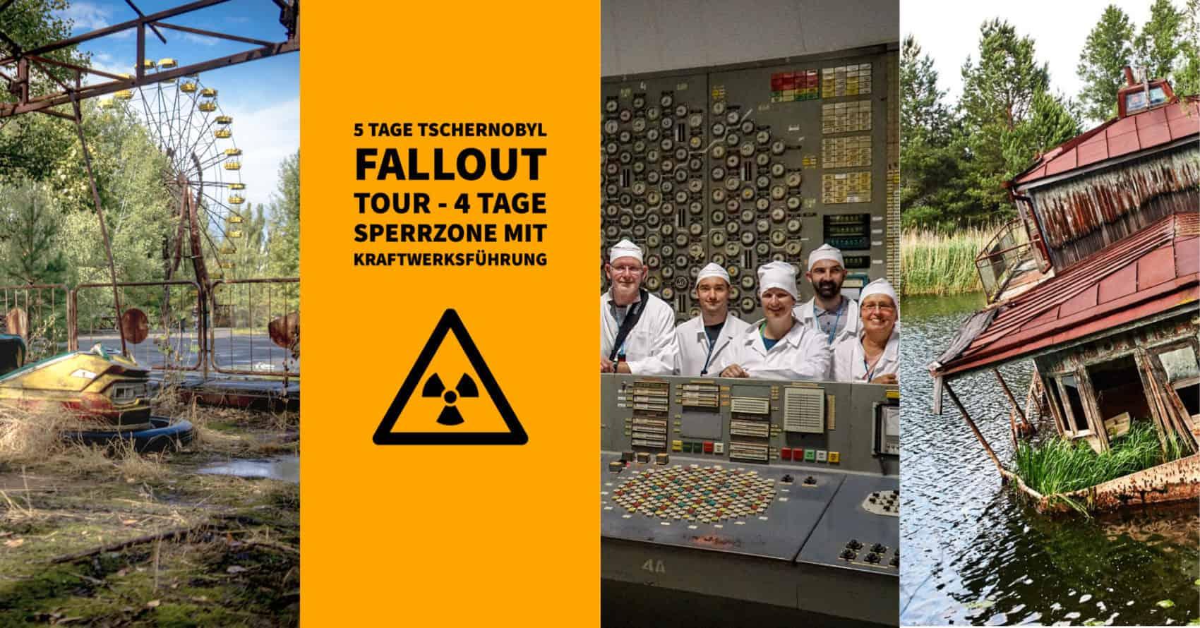 Tschernobyl Fallout Tour Banner
