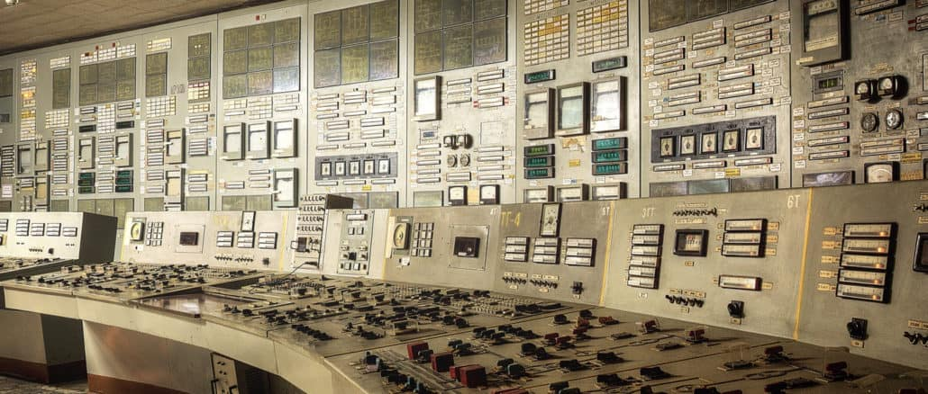 Schaltraum Tschernobyl