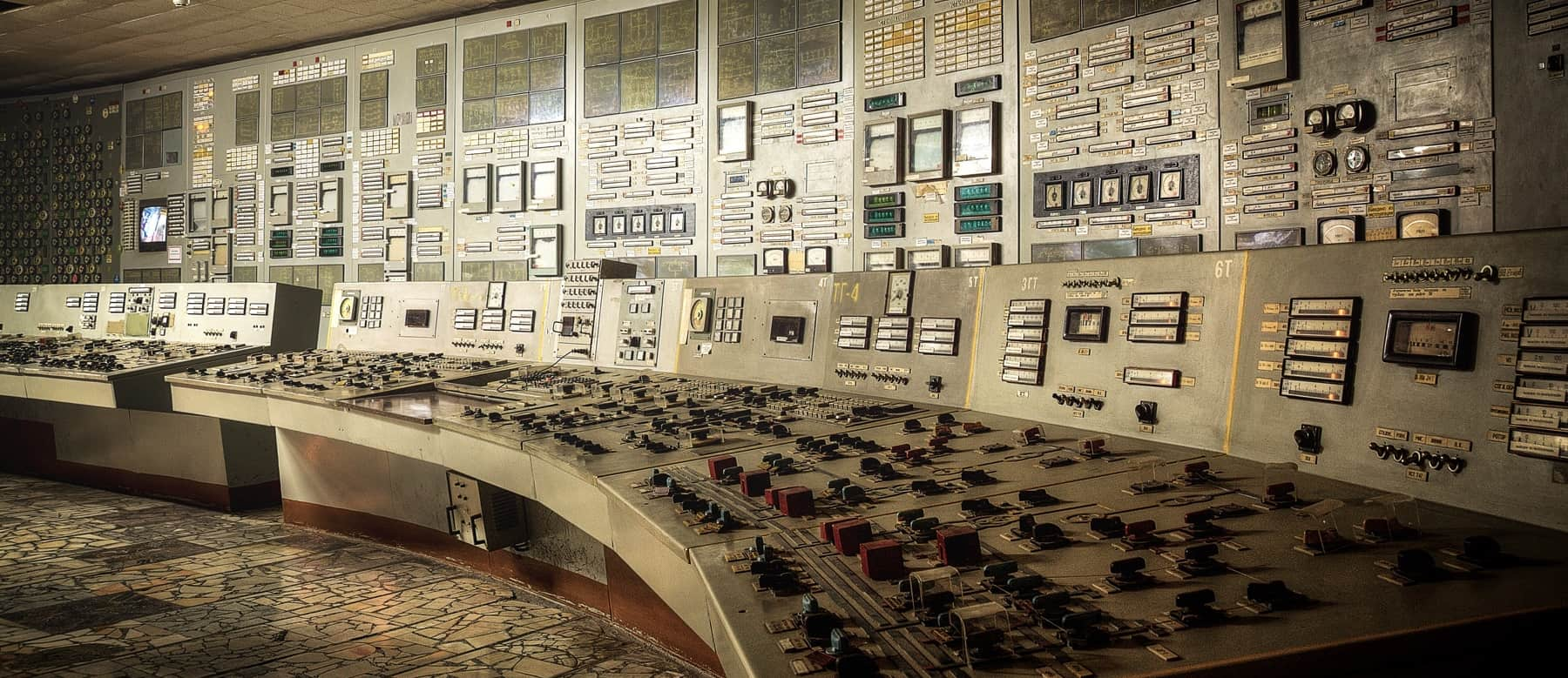 Tschernobyl Schaltraum