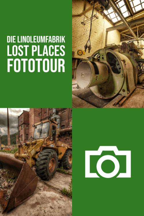 Lost Places Fototour in einem düsteren Industrieobjekt