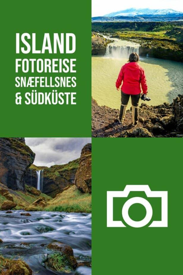 Island Fotoreise - Snaefellsnes und Südküste im Herbst
